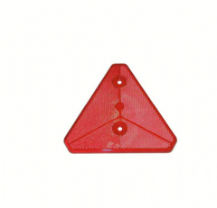 Red Triangle Reflector (Pair) Caravan and HGV lorry Suitable